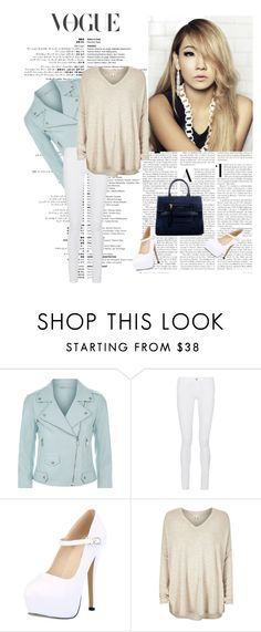 """""""Untitled"""" by biserapolyvore ❤ liked on Polyvore featuring Rebecca Minkoff, Frame Denim, River Island and Marc Jacobs"""