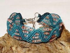Armband - meeresgrün - Glasperlen - najade von Sunnseitn Kunsthandwerk auf DaWanda.com