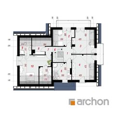 Dom w tamaryszkach 2 House Plans, Floor Plans, How To Plan, House Styles, Home Decor, Trendy Tree, Houses, House Construction Plan, Pictures