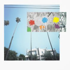 The Overlap Series: Palmtrees and Building (with Vikings), 2001  by John Baldessari
