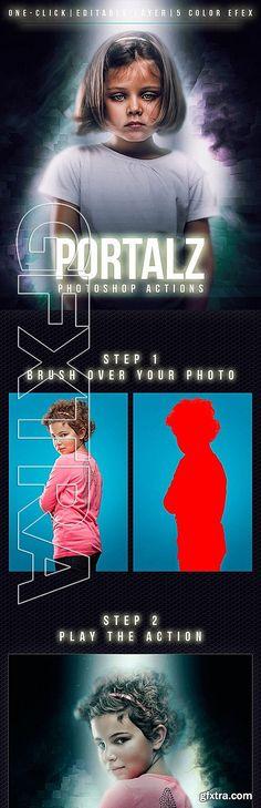GraphicRiver - Portalz Photoshop Actions 11559726