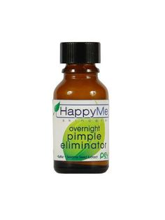 HappyMe Skincare Overnight Pimple Eliminator, Argan Magic Emulsifying Hand Cream, and more: Editors' Favorites, Week of - Pimples On Chin, Pimples On Forehead, Pimples Under The Skin, Natural Beauty Remedies, Home Remedies For Acne, Spot Treatment, Pimple Cream, Pimples Overnight
