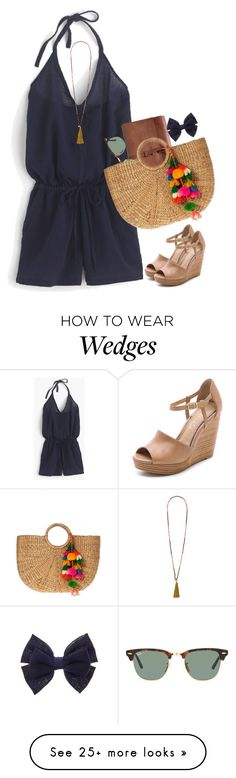 """""""Live. Laugh. Love."""" by sc-prep-girl on Polyvore featuring J.Crew, Splendid, French Connection and Ray-Ban"""