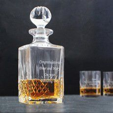 Discover unique personalised bar gifts in this range like our personalised champagne flutes, shot glasses and beer tankards which make the perfect wedding gift Personalized Champagne Flutes, Bar Gifts, 60th Birthday Gifts, Crystal Decanter, Gift Store, Fathers Day Gifts, Anniversary Gifts, Wedding Gifts, Personalized Gifts