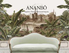 Ananbô: Nos décors indiens sépia et jungle colorée... Reto...