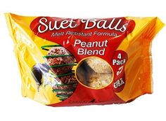 Other Bird and Wildlife Accs 75579: Peanut Blend Suet Balls 4 Pack Case Of 6 Suet Bird Feed, New -> BUY IT NOW ONLY: $124.99 on eBay!