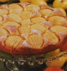 Receitas - Bolo de maçã - Petiscos.com