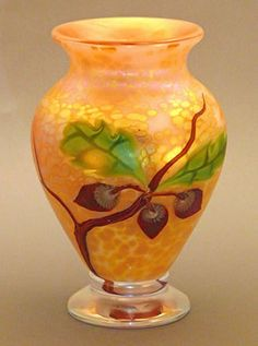 Acorn Glass Flower Vase by Orient and Flume (Orient and Flume) - Crystal-Fox Gallery