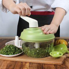 Vegetables Chopper Egg Blender Stainless Steel Blades Nuts Crusher Meat Mincer #Unbranded