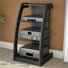 If your sound system deserves to be showcased, audio racks are available in a lot of designs and configurations that would complement your other furnishings. Description from furnitureanddesignideas.com. I searched for this on bing.com/images