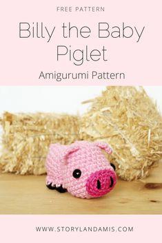 Storyland Amis, Free Amigurumi Pig Pattern