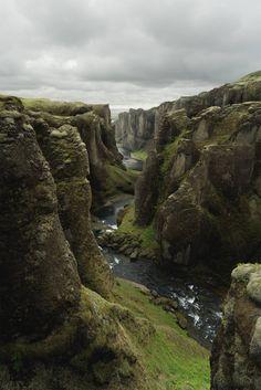 Fjaðrárgljúfur Iceland [OC][2400X3599] #reddit