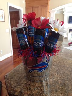 Valentines beer bouquet