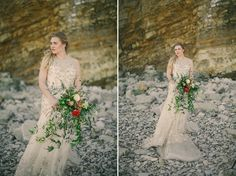 Dreamy, Ethereal and Romantic Wedding Inspiration from Jess Petrie Photography