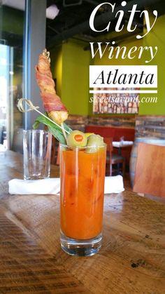 City Winery Atlanta Weekend Brunch sweetsavant.com America's best food blog