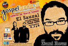 GOSPELIANDO 2015 Encuentro de música gospel, 6, 7 y 8 de noviembre en el Sauzal.