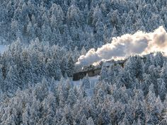 Harz National Park is located within Germany's most northern mountain range, and is one of the country's most popular areas for outdoor activities like walking and skiing.
