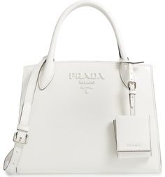 A modern twist on the iconic Prada logo bag bfb1b051a3bd0