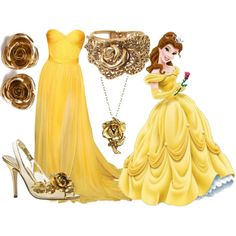 """""""Belle"""" by artsygurl842 on Polyvore - Beauty and the Beast"""