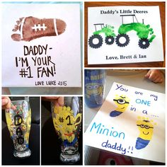 Father's Day Footprint Gift Ideas from the Kids