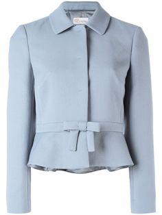 Fashion Tips For Girls Blazer Outfits, Blazer Fashion, Look Fashion, Winter Fashion, Semi Formal Wear, Designs For Dresses, Fashion Tips For Girls, Peplum Jacket, Fashion Dresses