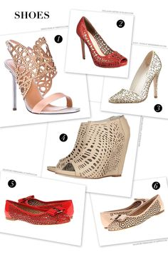 CeciStyle v142: Setting the Trend: Laser-Cut Shoes. The popular Ceci New York design technique leaps into fashion and home this Spring.