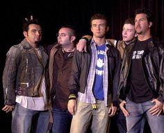 *NSYNC- Wax Justin Timberlake , Chris Kirkpatrick ,and Joey Fatone!