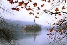 Church in Lake Bled during Autumn - Best Things to Do in Bled Slovenia