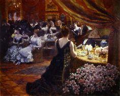 The Athenaeum - Il salotto della Principessa Matilde (Giuseppe de Nittis) 1883