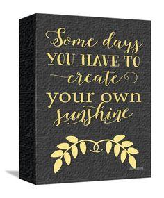 e4f33fbb4c Create Your Own Sunshine Art Print Create Yourself