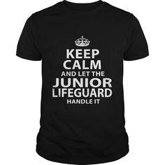 JUNIOR LIFEGUARD T-Shirts, Hoodies. CHECK PRICE ==► https://www.sunfrog.com/LifeStyle/JUNIOR-LIFEGUARD-118026529-Black-Guys.html?id=41382