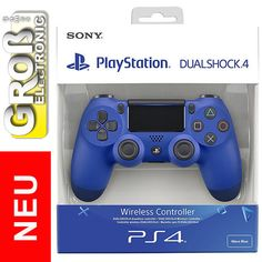 Controller PLAYSTATION 4 DS 4 Dual Shock 4 DualShock Blau Blue V2 PS4 Sony 2016