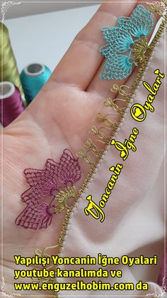 Needle Lace, Baby Knitting Patterns, Elsa, Embroidery Designs, Stitch, Creativity, Hair Bows, Embroidery Ideas, Toss Pillows