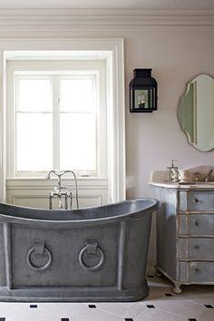 Horse trough bath tub