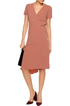 Shop on-sale Joseph June asymmetric wrap-effect stretch-crepe dress. Browse other discount designer Dresses & more on The Most Fashionable Fashion Outlet, THE OUTNET.COM