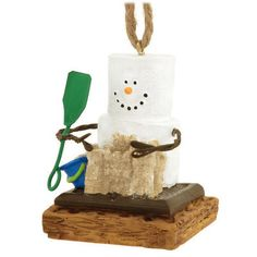 S'mores Sand Castle Ornament - S'mores - Christmas Ornaments - Bronner's CHRISTmas Wonderland