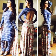 Top Indian fashion and lifestyle blog: Mouni Roy in Payal Singhal
