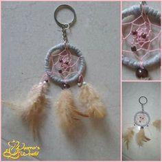 Dreamcatcher em porta-chaves .  Preço : MP Aceitam-se encomendas :)