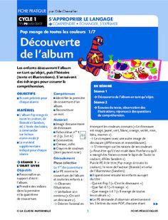 Pop mange de toutes les couleurs Cycle 1, Pop Albums, History Teachers, Food Videos, Art History, How To Become, Recherche Google, Stage, Notes