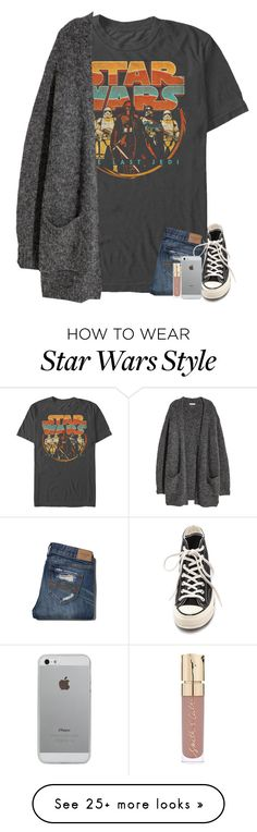 """this is what i actually wear lol"" by abracadabr-a on Polyvore featuring H&M, Abercrombie & Fitch, Converse, Luvvitt and Smith & Cult"