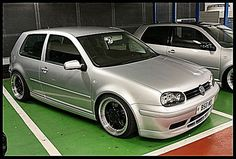 Custom VW Golf TDI. Basically, my turbo diesel dream car.