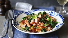 BBC - Food - Recipes : Healthy penne with chicken and broccoli
