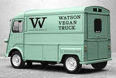 Brand Identity Design for Watson Vegan Truck