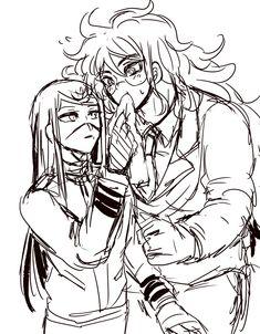 Izuru Kamukura, Ouma Kokichi, Sad And Lonely, Super Danganronpa, And So It Begins, Danganronpa Characters, Precious Children, Free Anime, Beautiful Friend