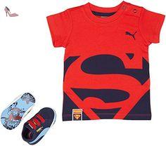 Puma Crib Pck Superman 2, Baskets mode mixte enfant, Bleu (Peacoat/Princess Blue), 20 - Chaussures puma (*Partner-Link)