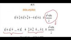Curso de Matemática Fatorial de um número natural Expressão fatorial sim... https://youtu.be/EvzTNIXDwHE