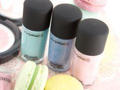 MAC Summer 2013 Baking Beauties Nail Lacquers