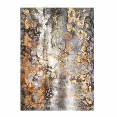 Amber Bark Hand Painted Canvas