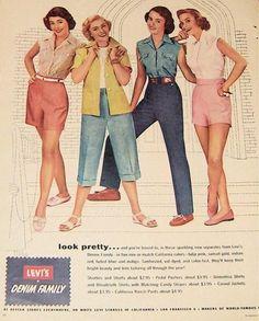 Levi's ad, circa 1956
