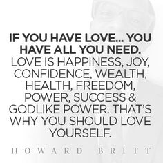 Get more love, money & happiness in 30 days at howardbritt.com/lms and begin changing your life forever!